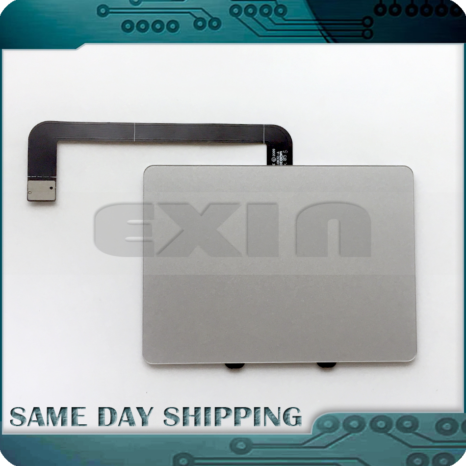 New A1286 Touchpad Trackpad with Flex Cable for Macbook Pro 15 A1286 2009 2010 2011 2012 Year 922-9306 821-0832-A 821-1255-A new touchpad trackpad with cable for macbook pro 13 3 unibody a1278 2009 2012years