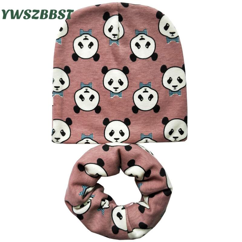 2pcs/set New Autumn Winter Cotton baby scarf Infant hats set child caps scarf baby cap Retail/Wholesale