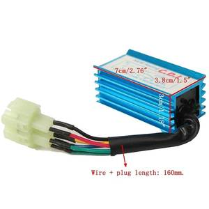 Image 5 - 70x35x29mm New Blue Arrival Performance 6 Pin Racing CDI Box Ignition Coil For GY6 Scooter Moped 50cc 150cc