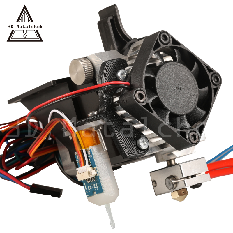 3D Printer part Titan Aero Extruder Full Kit with NEMA 17 Stepper Motor + bltouch(auto leveling sensor)for Anet A8 A6 CR 10 i3|auto leveling|3d printer extruder kit|mk8 extruder kit - title=
