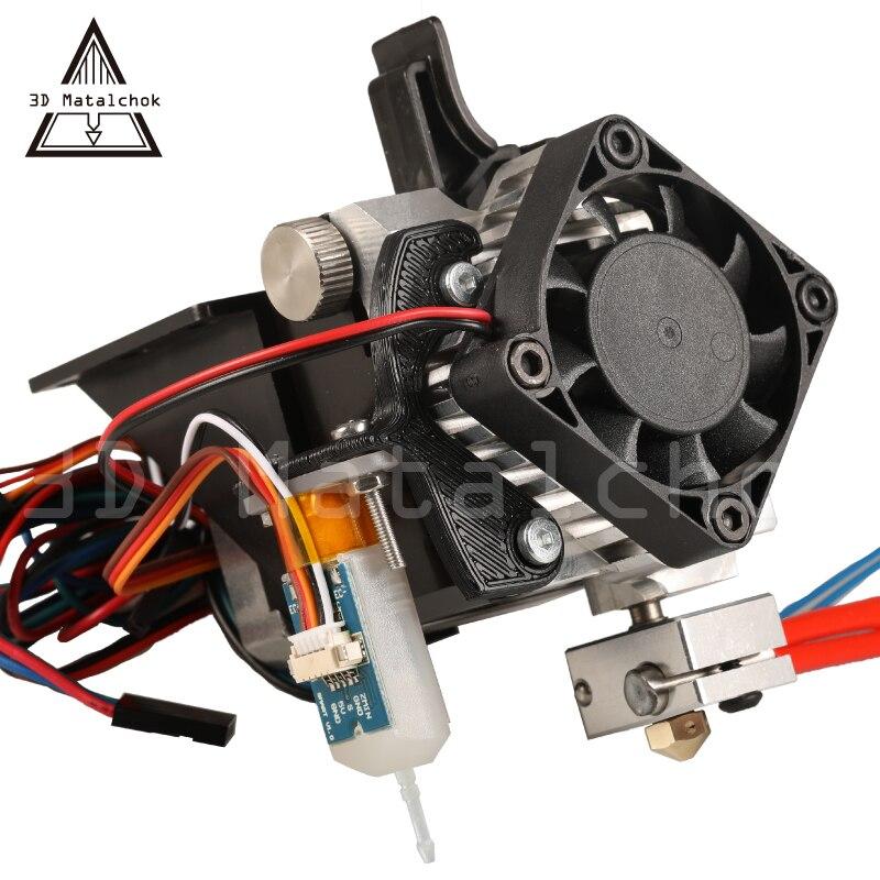 Peça da Impressora 3D Titan Aero 17 Extrusora Kit Completo com NEMA Stepper Motor + bltouch (sensor automático de nivelamento) para Anet A8 A6 CR-10 i3