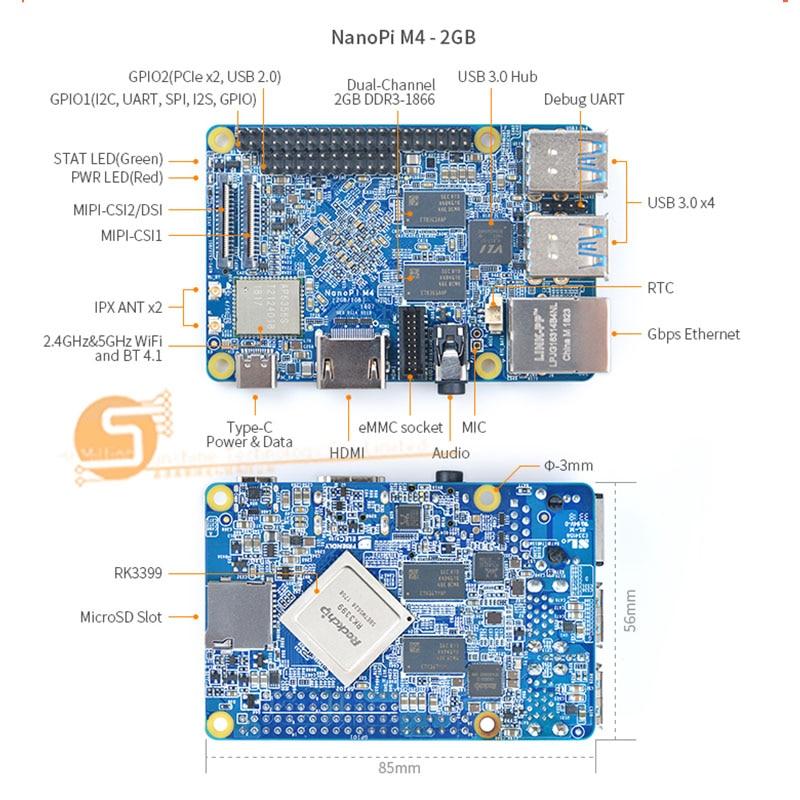NanoPi M4 RK3399