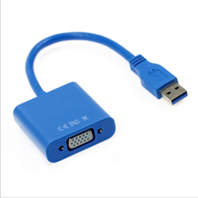 Get more info on the USB 3.0 to VGA HD Converter Adapter External Video Graphic with drive disc for Desktop Laptop HDTV projector