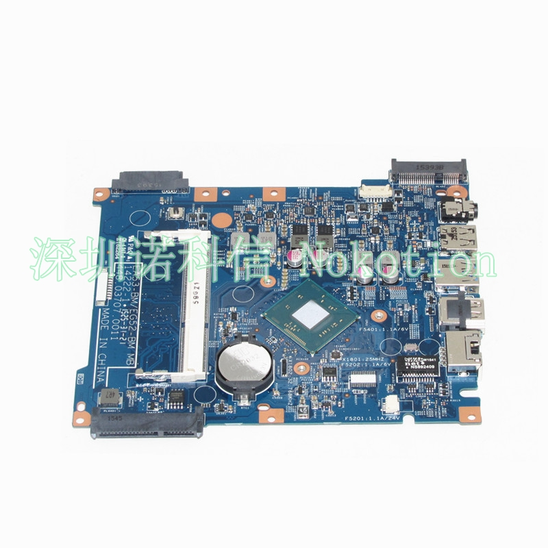NOKOTION NBMRW11001 NB.MRW11.001 448.03707.0011 For acer aspire ES1-512 Laptop motherboard SR1YW N3540 Mainboard Works nokotion mbpce01001 laptop motherboard for acer aspire 7535 ddr2 socket s1 with graphics card slot 48 4ce01 021 mainboard works