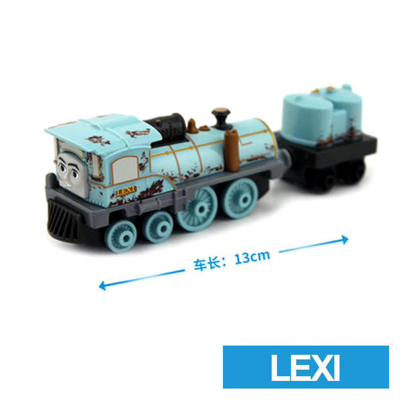 x59 Gift 1: 64 Vehicles Diecasts Thomas with hook LEXI Thomas And Friends Magnetic Thomas Truck Engine Train Toys For Boys