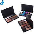 Naked Eyeshadow Basics Palette 15 Maquiagem Professional 15 Color Smoky Eye Shadow Palette Cosmetics 2016 Fashion Ha6
