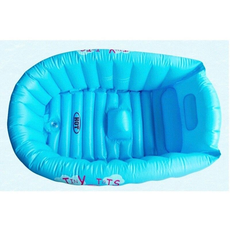 Newborn Infant Bath Seat Chair Inflatable Baby Bathtub Swimming Pool ...
