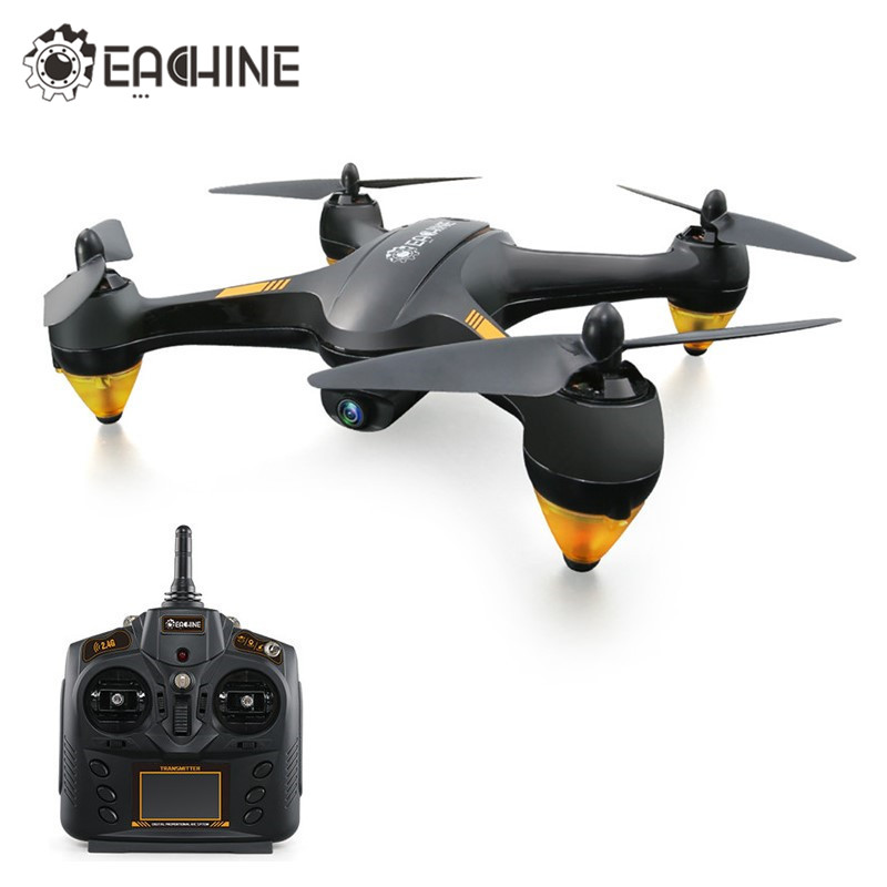 In Stock Eachine EX1 Brushless Double GPS WIFI FPV With 1080P HD Camera RC Drone Quadcopter RTF VS Hubsan H501S X4 Pro AIR H501A rc drones quadrotor plane rtf carbon fiber fpv drone with camera hd quadcopter for qav250 frame flysky fs i6 dron helicopter