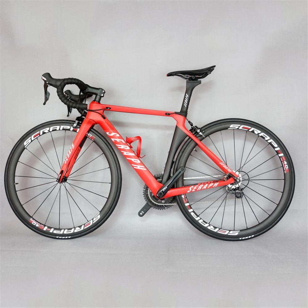 Aero Desgin complete bike TT-X1 paint 38x25mm clincher carbon rims  with Sh1mano 105-R7000 groupset 22 speed