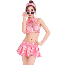 Sexy Pink Cheerleader Costume Cosplay Women Halloween For Carnival Party Suit