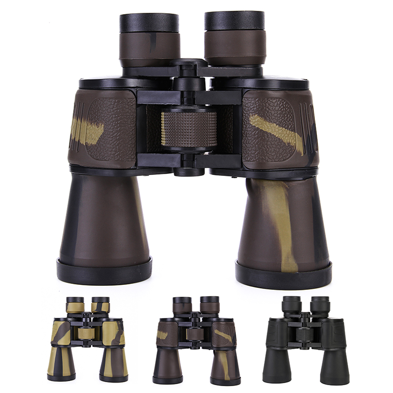2017 High Quality Classic 20X50 HD Binoculars Wide Angle Binocular Telescope for Outdoor Camping Travel Hunting Sightseeing bresee high powered telescope hd 7x50 binoculars for hunting and outdoor adventure