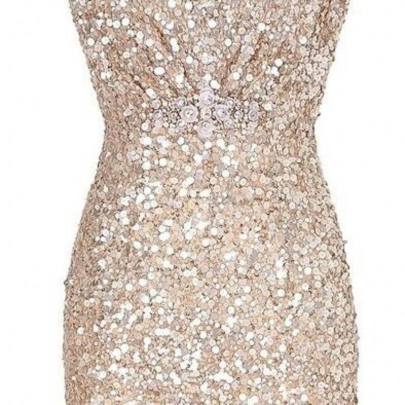 Luxury Sequin Robes Abendkleider Crystal Evening Dresses Great ...