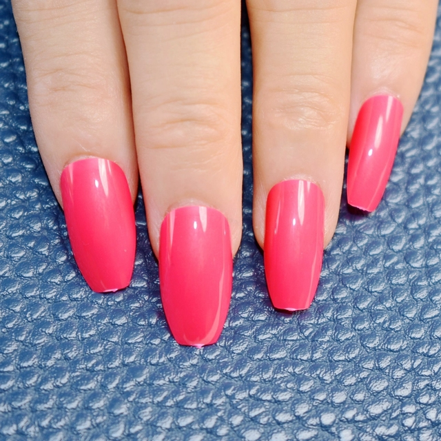 brillant cercueil faux ongles rose rouge lady acrylique nail conseils ballerine simple daidly. Black Bedroom Furniture Sets. Home Design Ideas