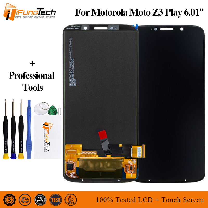 for Motorola Z3 Play XT1929 6.01 inch LCD Display Touch Screen Digitizer Assembly 2160*1080 Digitizer assembly  Glass and Toolsfor Motorola Z3 Play XT1929 6.01 inch LCD Display Touch Screen Digitizer Assembly 2160*1080 Digitizer assembly  Glass and Tools
