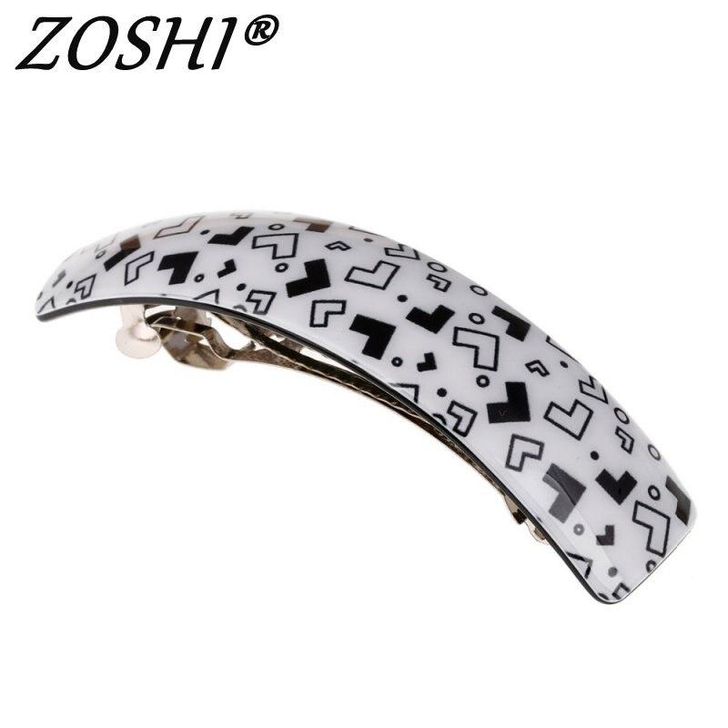 High Quality Fashion Big  lattice 6 Colors Hair Accessories Hair Clip Hairpins for women Girl gift