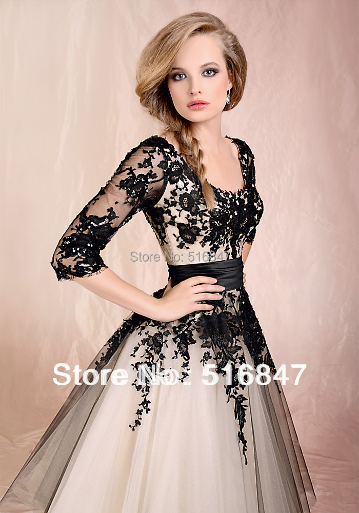 Aliexpress.com : Buy Stock New Half Sleeves Tulle Wedding Prom ...