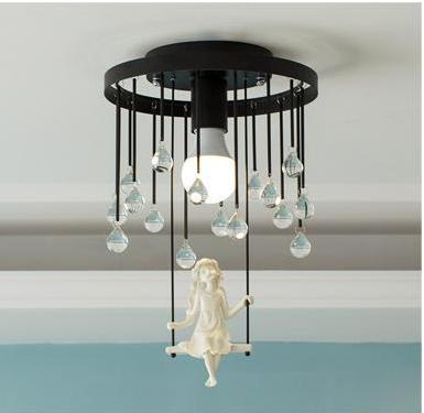 dormitorio Swing Adolescente montada lámpara superficie girl 8nwN0m