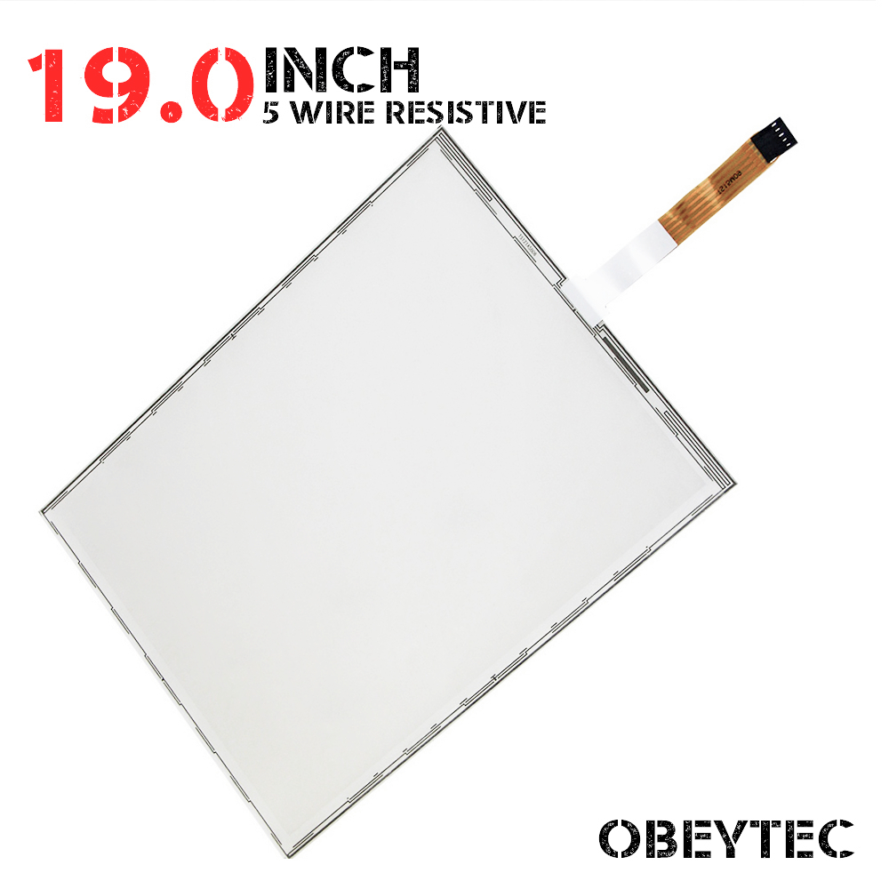 все цены на 19 Inch 4:3 5 Wire Resistive Touch Screen Panel Kit with EETI USB Controller Active Area 375*300mm онлайн