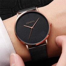 New Ultra-thin Women's Watch 2019 Lover's Watch Luxury Saat