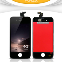 Hot Sale Grade AAA Quality Replacement Screen LCD For IPhone 4 Display With Touch Screen LCD