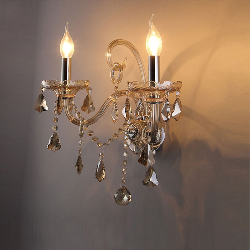 Crystal candle wall lamp led reading light wall mounted bathroom light wall sconce led reading light mounted bedroom wall lamps innovative bedroom light fitting main light integrated with reading light matte black white horizontally or vertically mounted