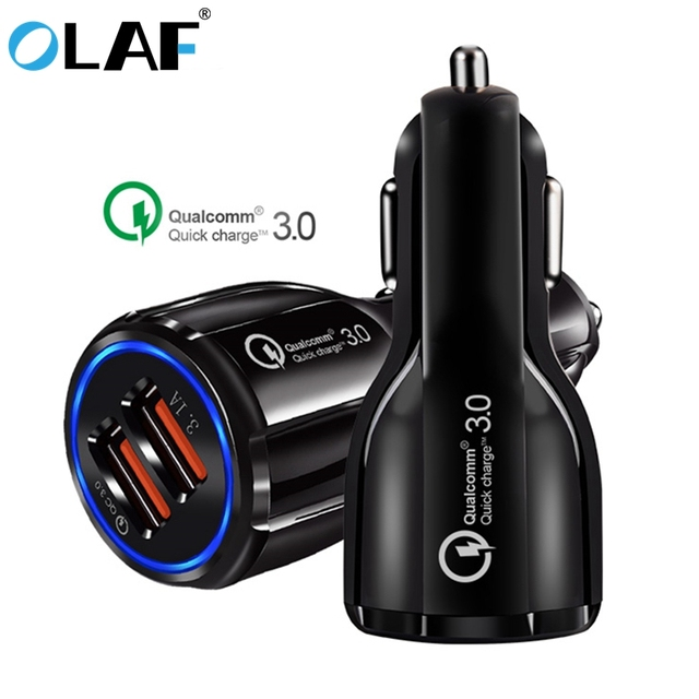 Quick Charge 3.0 Car USB Charger