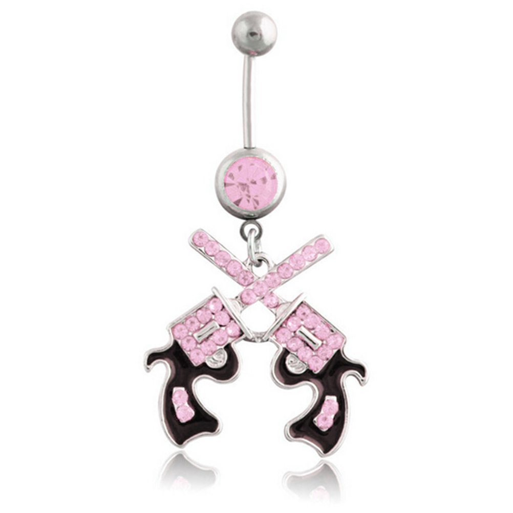 Belly Button Ring 316L...