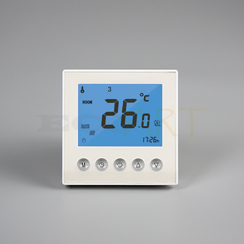 ФОТО Programmable Thermostat with LCD Screen Blacklight for Infrared Heater Panel