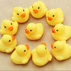 12pcs One Dozen Rubber Duck Ducky Duckie Baby Shower Birthday Favors for birthday parties and baby showers Sounds
