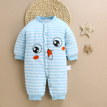 Baby Winter Clothes Cotton Warm Boy Girl Romper New Born Costume Onesies 3M-12M