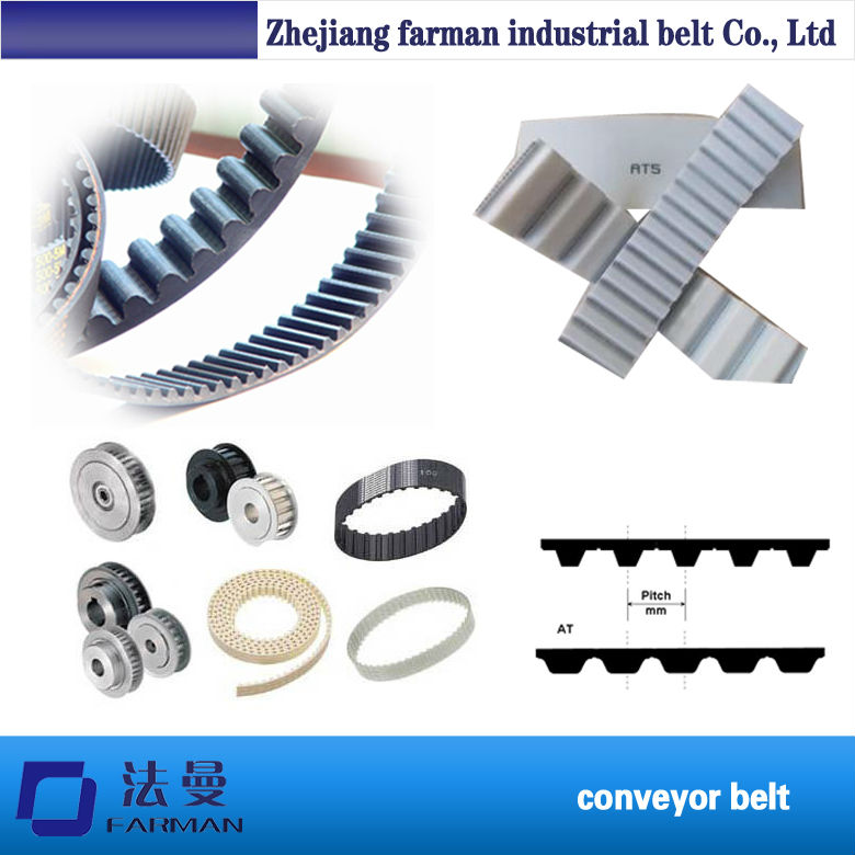 Endless/Seamless Timing Belt,Pu/Rubber Timing Belt 32 atp10 1610 white color timing belt