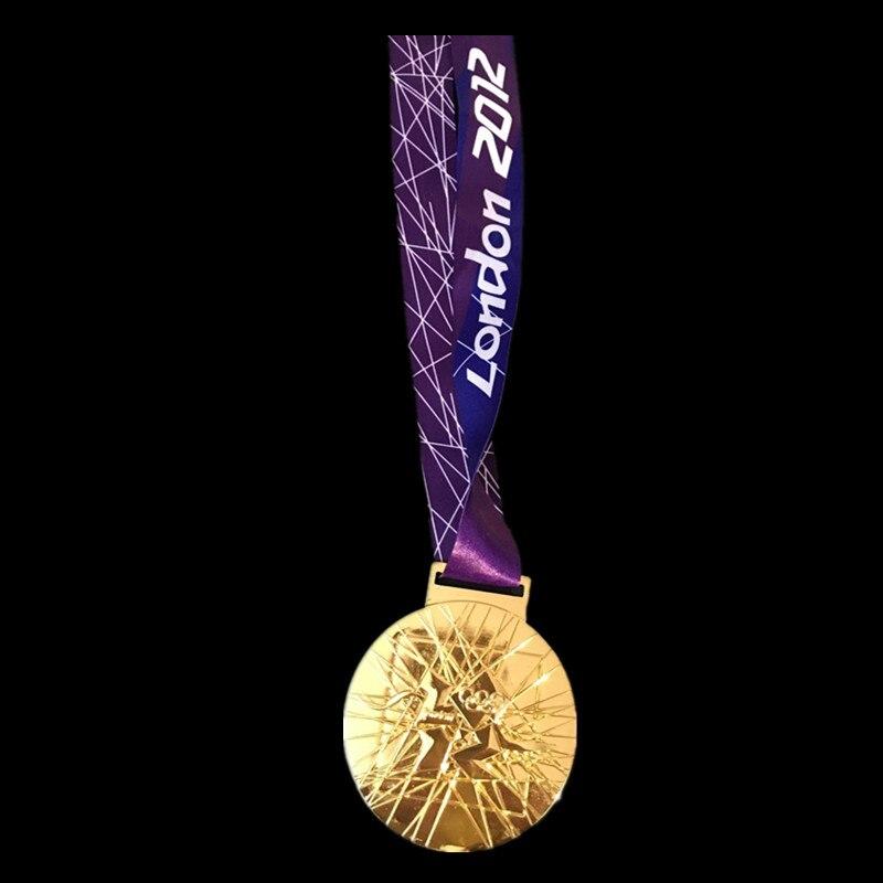 1 pçs 1984 los angeles 1988 seul 2000 sydney medalha de ouro esporte distintivo nova marca medalha com fita