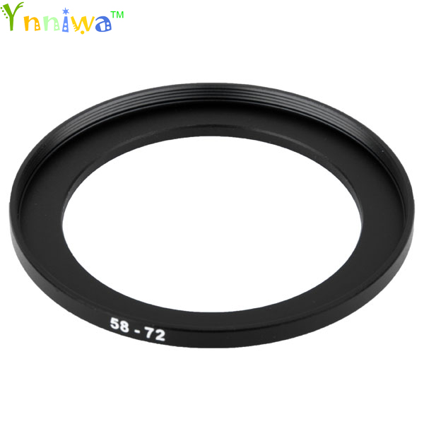 58-72 mm Metal Step Up Rings Lens Adapter Filter Set