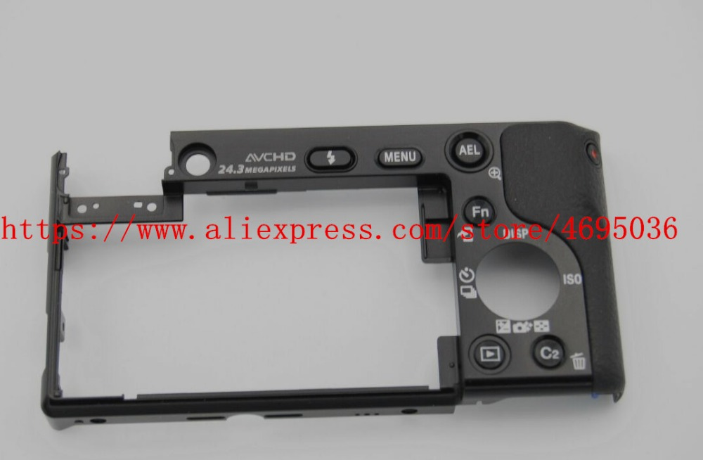 Repair Parts For Sony ILCE-6000 ILCE-6000L A6000 Back Cover Rear Case Shell Ass'y X-2589-185-2