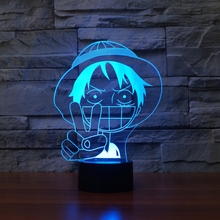 Creative One Piece Night Light