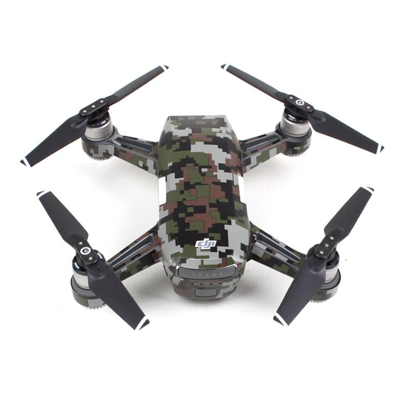Calcomanías de drones de camuflaje a prueba de agua para drones DJI - Cámara y foto