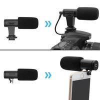 Mobile Phone Camera Microphone Mini Camera Cordless Mic Microfone for Studio and Home