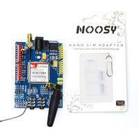 1PCS LOT SIM900 GPRS GSM Shield Development Board Quad Band Module Compatible High Quality