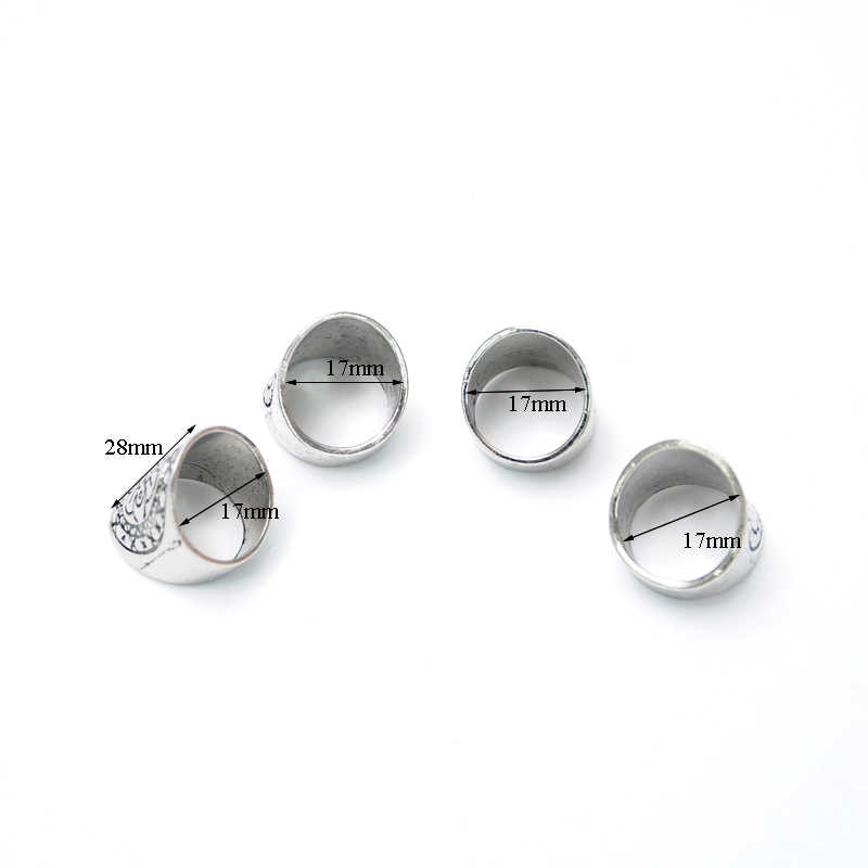 1 sztuk 2018 nowy Retro srebrny pierścień szeroka wersja handlu zagranicznego palec wskazujący Retro rzeźbione geometryczny pierścionek