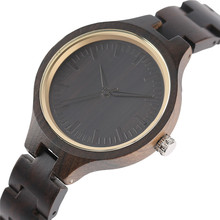 Trendy Bamboo Ladies Watches Modern Full Wooden Handmade Creative Bracelet Women Wristwatch Quartz 2019 New Fashion Clock Gift nature wooded bamboo watch men handmade full wooden creative women watches 2019 new fashion quartz clock festival gift