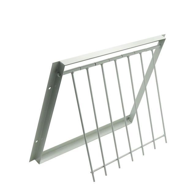 30/40*26cm Pigeon Door Metal Bars Single Entrance Trap 5