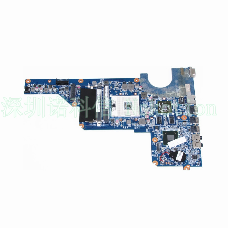 купить NOKOTION 636375-001 laptop motherboard for HP Pavilion G4 G6 G7 650199-001 DA0R13MB6E0 HM65 DDR3 HD 6470 1GB Main board по цене 5099.81 рублей