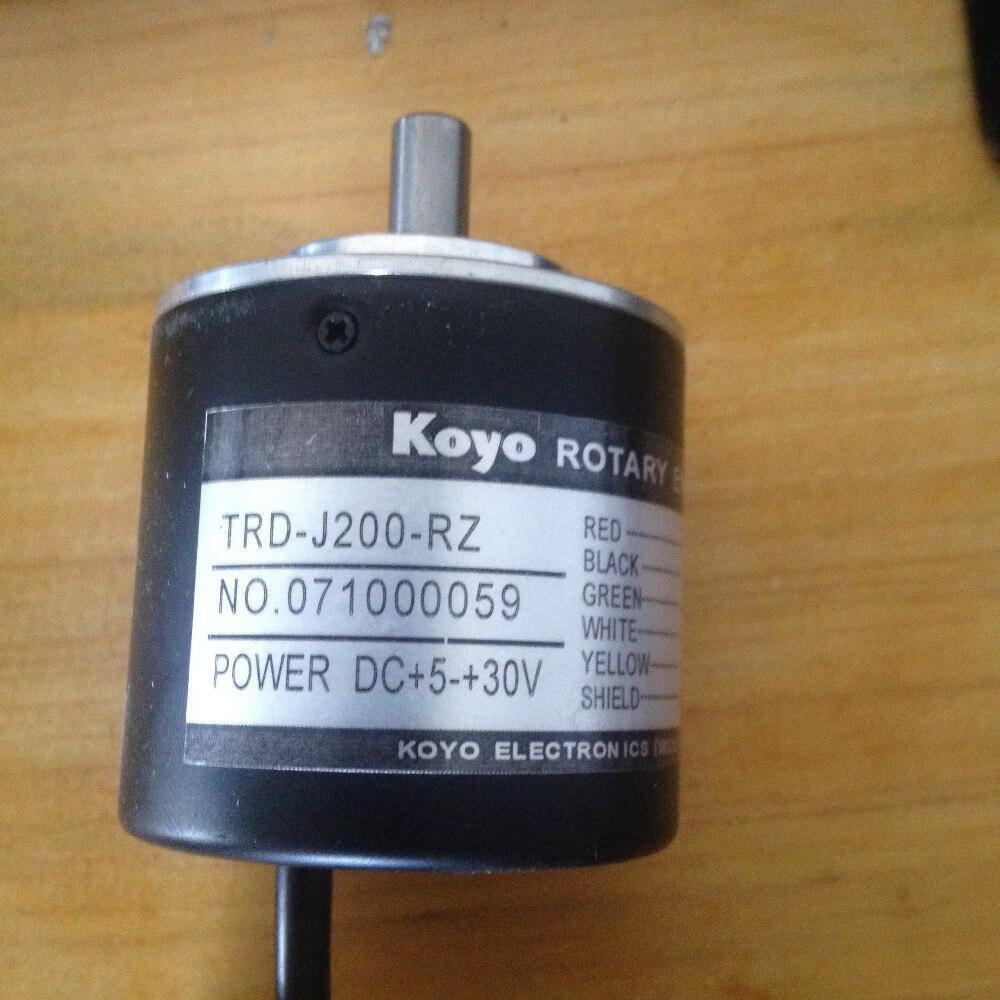 Freeship Koyo encoder Trd-TRD-J100-RZ ad alte prestazioni TRD-J100RZ encoder rotativo incrementale Albero 8mm con 1 anno di garanziaFreeship Koyo encoder Trd-TRD-J100-RZ ad alte prestazioni TRD-J100RZ encoder rotativo incrementale Albero 8mm con 1 anno di garanzia