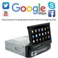 Android 8,1 Универсальный Авто Радио FM AM USB 7 ''1 Din Wi Fi стерео gps навигации Bluetooth Мультимедиа MP5 плеер