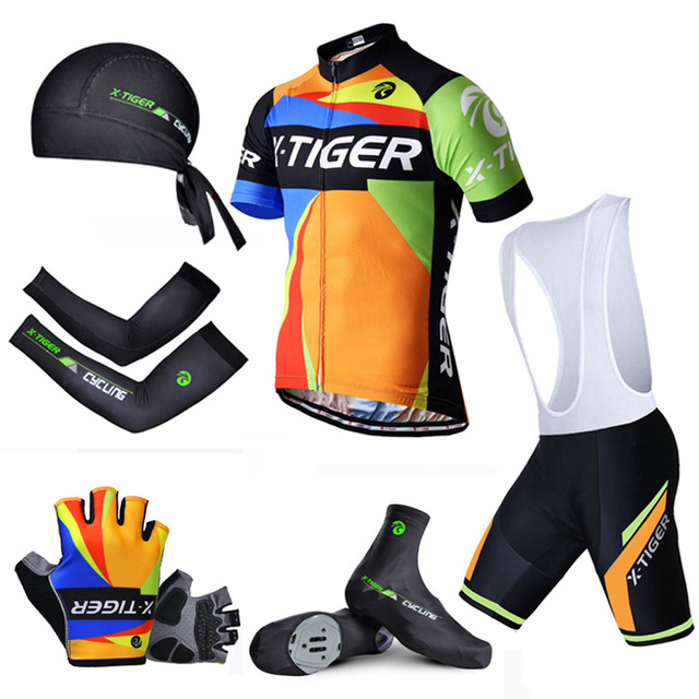 ed378f551 Pro X-Tiger Summer Big Cycling Set ! Summer Mountain Bike Sportswear Bicycle  Jerseys Clothes