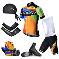 Pro X Tiger Summer Big Cycling Set Summer Mountain Bike Sportswear Bicycle Jerseys Clothes Hombre Maillot