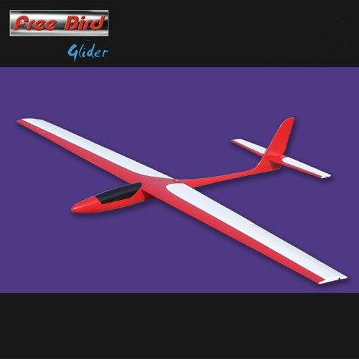 Free Bird Glider 1450mm Fiberglass Fuselage & Balsa wood wings