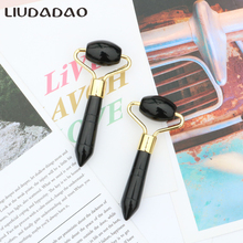 Mini Jade Rollers Black Obsidian Rollers For Women Beauty Ro