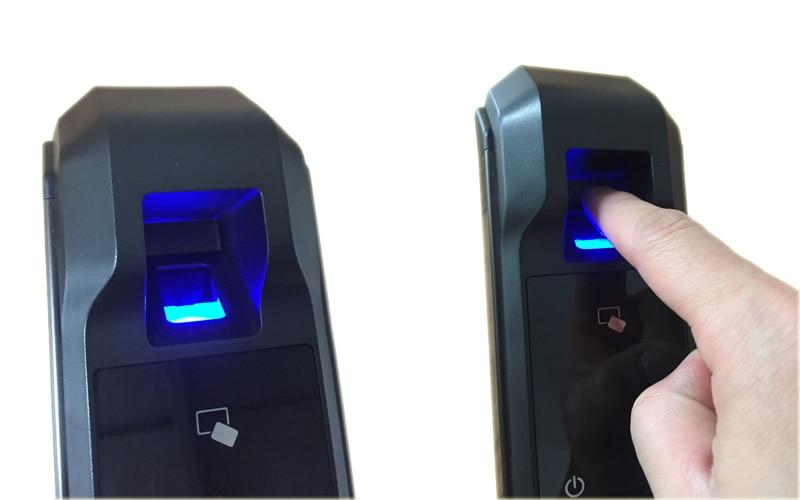 HTB13aEKjsrI8KJjy0Fhq6zfnpXaQ RAYKUBE Biometric Fingerprint Door Lock Intelligent Electronic Lock Fingerprint Verification With Password & RFID Unlock R-FZ3