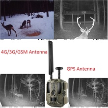 Balever 4G 3G 2G LTE WCDMA GSM Wireless Cellular Hunting Trail Kameras IP66 No Flash MMS Email FTP and APP